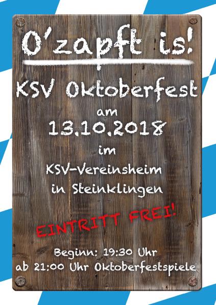 KSV Oktoberfest